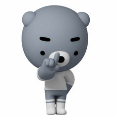 blue bear Gomm – LINE stickers Animated Emojis, Animated Smiley Faces, Animated Gif, Cute Cartoon Pictures, Cute Love Cartoons, Cute Pictures, Bye Gif, Animiertes Gif, Outline Art