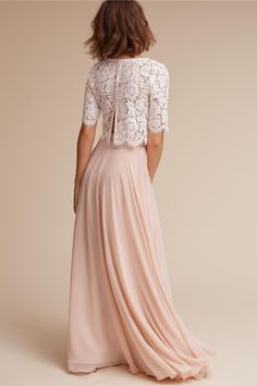 Libby Top Ivory in Bride | BHLDN