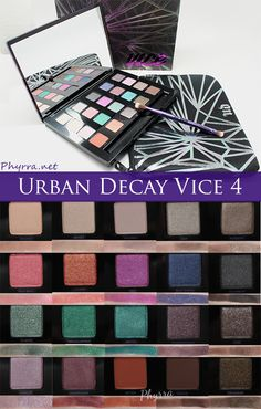 Phyrra reviews the Urban Decay Vice 4 palette and makes recommendations on color combinations. If you're a neutral lover you will want this palette!