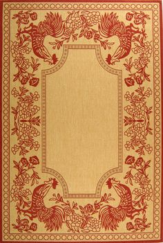 Area Rug ~ Country French Style