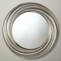 John Lewis Salon Swirl Mirror, Gold, Dia.68cm  #affiliate