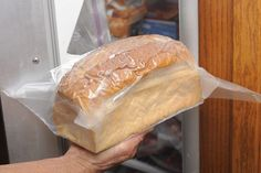 The FoodSaver, a small kitchen appliance, uses vacuum sealing to extend the shelf life of fresh foods. Bread and other baked goods in particular don't last long when exposed to air, and vacuum sealing and freezing can keep them fresh for longer. All FoodSaver models  work to remove air from around the food and seal it tightly. It does take...