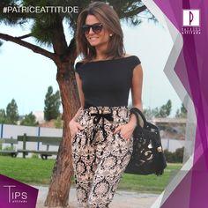 Faldas, shorts, pantalones y cinturones a la cintura te harán lucir una estatura más alta  #PatriceTips
