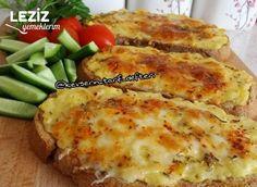 Fırında Kahvaltıya Lezzetli Patatesli Ekmekler