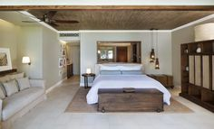 St Regis Le Morne Hotels: The St. Regis Mauritius Resort - Hotel Rooms at stregis Mauritius Resorts, Destinations, Luxury Accommodation, Hospitality Design, The St, Interior Design Inspiration, Hotels And Resorts, Living Spaces, Mauritius Holidays