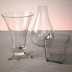 Vase Set 2 3D Model-   A high quality vase set for your scenes. Contains three detailed high-poly vases. Max file (2009 version) comes with V-Ray glass, porcelain and chrome materials (same as seen in the previews). - #3D_model #Accessories,#Cookware and Tableware Collections,#Other Furniture