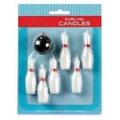 Amazon.com: 7pc Bowling Pins and Ball Candle Set: Toys & Games