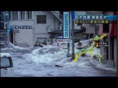 Tsunami in Japan [HD] 3.11 first person FULL raw footage - YouTube