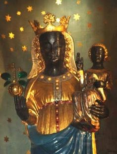 black madonna statue | Virtual-Babaji-Vishwananda: Black Madonna Statue