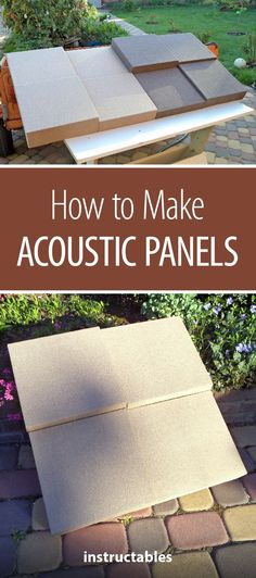 Woodworking School How to Make Acoustic Panels Woodworking School, Beginner Woodworking Projects, Woodworking Crafts, Woodworking Jigsaw, Woodworking Equipment, Woodworking Videos, Woodworking Plans, Acoustic Ceiling Panels, Acoustic Wall