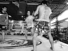 An interview with Sylvie von Dugglas-Ittu about being a Muay Thai fighter in Chiang Mai