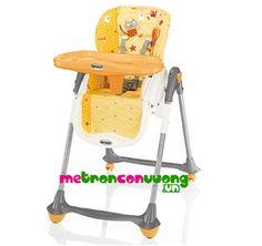 Ghế ăn bột Brevi Convivio (cam) BRE281-095 Metronconvuong online shopping