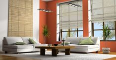 Home decor grey walls living room ideas wall stickers attention grabbing decorations pictures decorating cool Grey Walls Living Room, Simple Living Room, Formal Living Rooms, Living Room Decor, Bamboo Shades, Bamboo Blinds, Blinds For Windows, Window Blinds, Living Room Designs