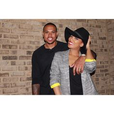 My favorite couple ❤️❤️ Shannon and Monica Brown