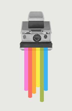 Taste the Rainbow Art Print by Zeke Tucker - X-Small Camera Logo, Camera Art, Rainbow Logo, Rainbow Art, Wall Art Prints, Canvas Prints, Pop Art Design, Taste The Rainbow, Popular Art