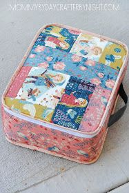 http://www.mommybydaycrafterbynight.com/2014/10/quilted-suitcase-tutorial.html?m=1