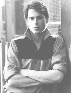 80stimewarp:    ♡ (5/100) sexy people of the '80s  ↳ Rob Lowe