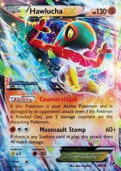 Hawlucha EX 64/111 - Pokemon XY Furious Fists ULTRA RARE PREORDER SHIPS 8/15 #Pokemon