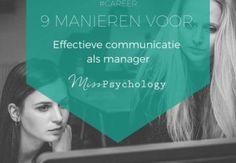 9 manieren voor effectieve communicatie