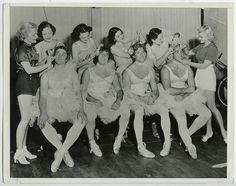 VINTAGE 1936 USC Football Players/Rosebowl Dressed as Ballerinas Hollywood Photo | eBay