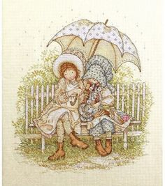 Holly Hobbie takes me back to days spent with my Grandma - she bought my Holly Hobbie Color Books :)