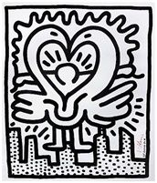 Keith Haring Kutztown Connection 1984 Skot Foreman Fine Art