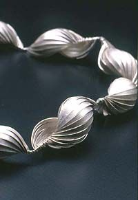 Artist: Gerlinde Huth: Bead Necklace (detail)