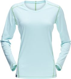 Norrøna technical longsleeve shirt for women - ideal for running. Perfect for climbing, trecking, everyday use and adventures. Shirt Sleeves, Long Sleeve Shirts, Tech, Sweaters, Women, Fashion, Technology, Moda, Fashion Styles