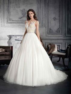 7eec259a3305 Demetrios Bridal 763 Amanda-Lina s
