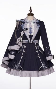 Old Fashion Dresses, Fashion Outfits, Pretty Outfits, Pretty Dresses, Fairytale Dress, Anime Dress, Dress Sketches, Fashion Design Drawings, Fantasy Dress