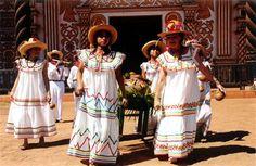 Native dress in Bolivia.