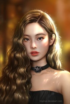 Jennie Kim Blackpink fan art by TinyTruc on DeviantArt - Wallpaper K Pop, Fan Art, Black Pink Kpop, Jennie Kim Blackpink, Kpop Drawings, Art Drawings, Blackpink Photos, Kim Jisoo, Digital Art Girl