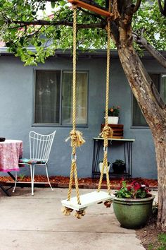8 Brilliant Swing Ideas For Your Backyard #gardendiy #diygarden #backyard #gardenideas #backyardgardeningdiy