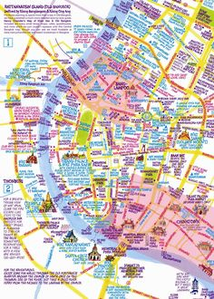 Nancy Chandler's 3D map of Bangkok, Maps through the ages – in pictures | Travel | guardian.co.uk
