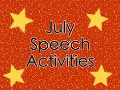 apraxia speech activities