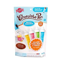 Skyrocket Candy Maker Chocolate Pen Colorful instructions Creativity For Kids  #CandyCraft