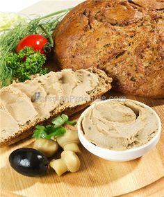 """Goose Pate """"Giovanies"""", Food, Meat Products, Canned Meat & Pate Pate Recipes, Soup Recipes, Wild Mushrooms, Stuffed Mushrooms, Canned Meat, Charcuterie, Appetizers, Nutrition, Gourmet"""