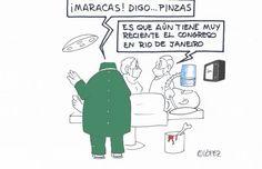 ¿Congresos sanitarios? Tecno humor por López ~ EFE futuro