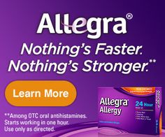 FREE Allegra! | My Pantry Partners