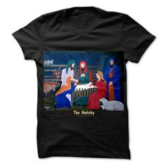 Christmas Nativity T-Shirt and matching Hoodie each sold separately