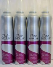 Wella Stay Firm Finishing Spray. Hold your flawless, finished style with controlled fixation. A strong hold finishing spray that instantly leaves a flawless, controlled finish. Provides instant control to set and seal your style in place.