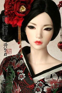 She's my wishlist project n___n Not that I want to customize a IH Asa exactly the same but I'd prefer having Bibiane to dressup as a Geisha~