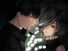 Fan Art Ken Kaneki x Touka Kirishima    Tokyo Ghoul :re