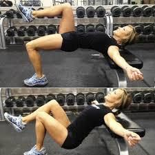 Hip Thrusts (here single-legged)