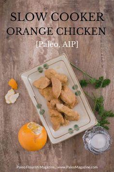 Slow Cooker Orange Chicken Recipe Infographic http://paleomagazine.com/paleo-slow-cooker-orange-chicken-recipe