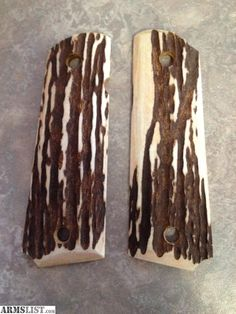 1911 grips   100% real antler stag 1911 grips