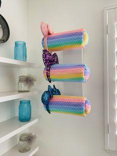 Rainbow Bow, Rainbow Print, Hat Holder, Bow Holders, Headband Storage, Disney Headbands, Pink Minnie, Disney Ears, Diy Home Crafts