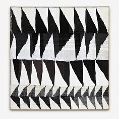 Brent Wadden, Alignment (2) 2012, Painting - hand woven fibers, wool, cotton and acrylic on canvas , 170 x 165 cm (66.93 x 64.96 inches) framed