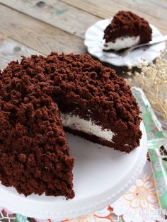 Torta mimosa Nutella e mascarpone Cooking Cake, Pastry Cake, Eat Dessert First, Ice Cream Recipes, Chocolate Desserts, Cakes And More, My Favorite Food, Sweet Recipes, Breakfast