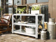 High quality design shelves by Metalsistem  Polc teraszra, kertbe